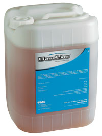 Baseline PreTreat Termiticide is shown in clear plastic drum this effective termiticide uses the same ingredient in the industry standard Talstar to kill and repel termites with the best of them